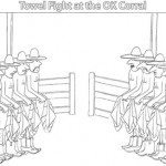 Towel Fight at the OK Corral Dan Trogdon And So It Goes Cartoons Humor Books