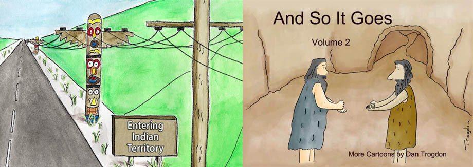 And So It Goes Cartoons Dan Trogdon